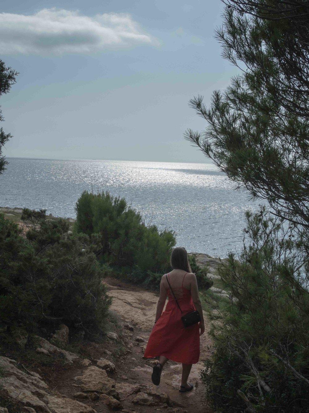 Strolling the Cami De Cavalles