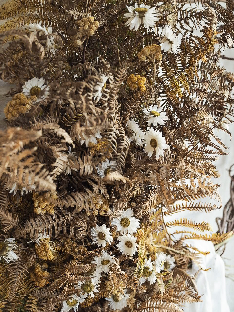 perfect materials to make wreaths with