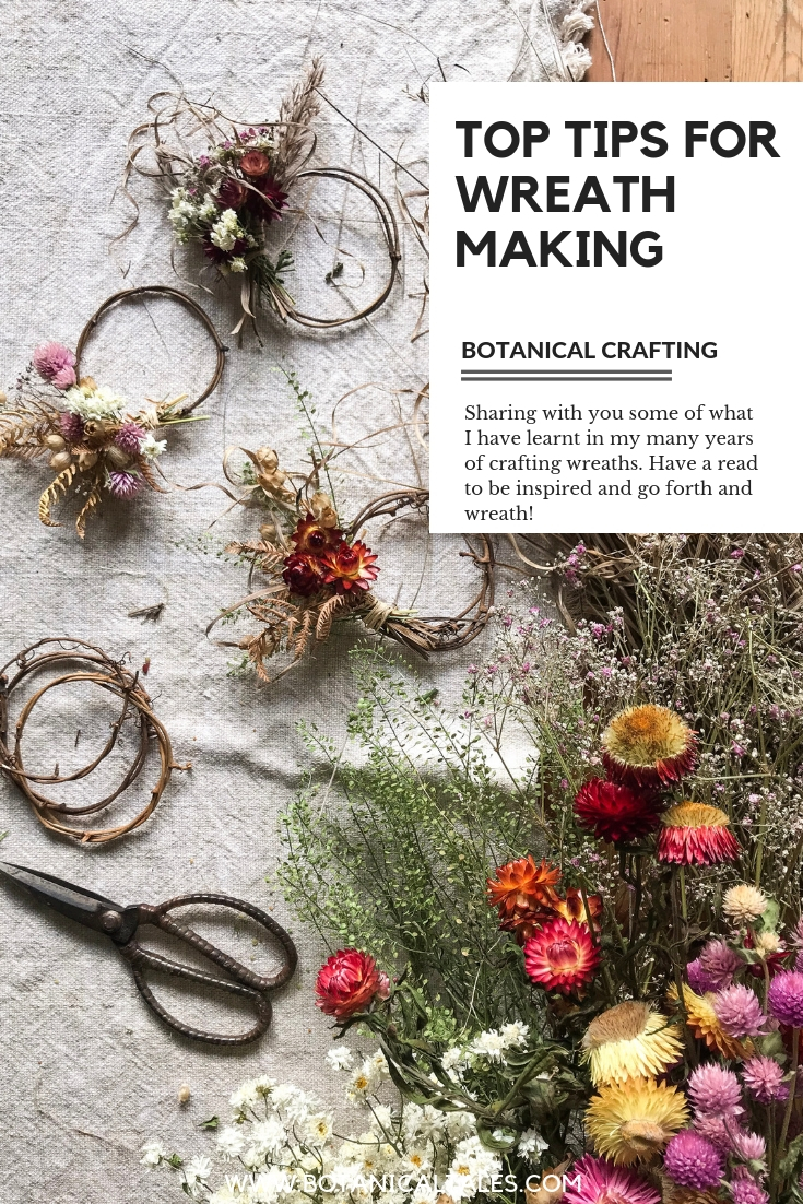 Top tips for wreath making