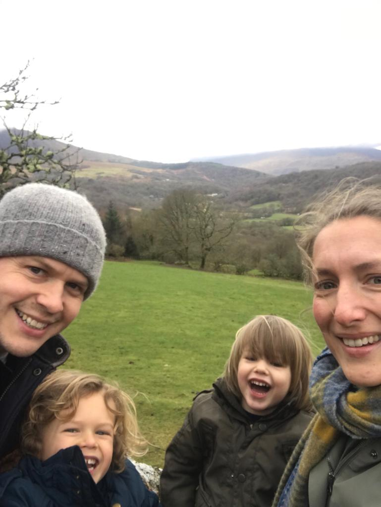 Family fun in North Wales