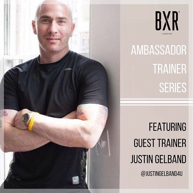 The wait is over... @justingelband4u has started his summer residency at @bxrlondon showcasing his signature functional movement workouts - a firm favourite with Victoria's Secret models @karliekloss @mirandakerr @angelcandices  Book now to avoid disappointment!  #bxrlondon #sweatbybxr #ambassadortrainer