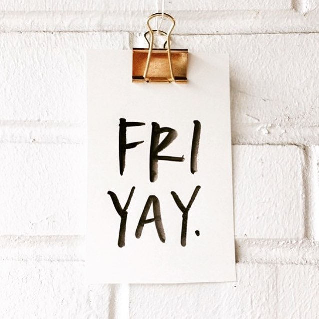 Friday feels!  #friday #fridayfeeling #weekend #weekendvibes #friyay #fridayfun