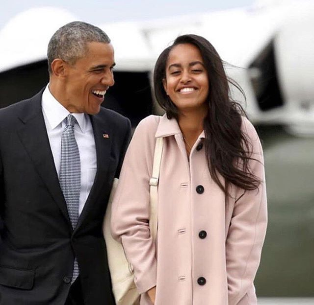 Happy belated #bday to one of our faves 🙌🏾❤️🥂👑 #MaliaObama #YoungQueen #CrownHerRoyal