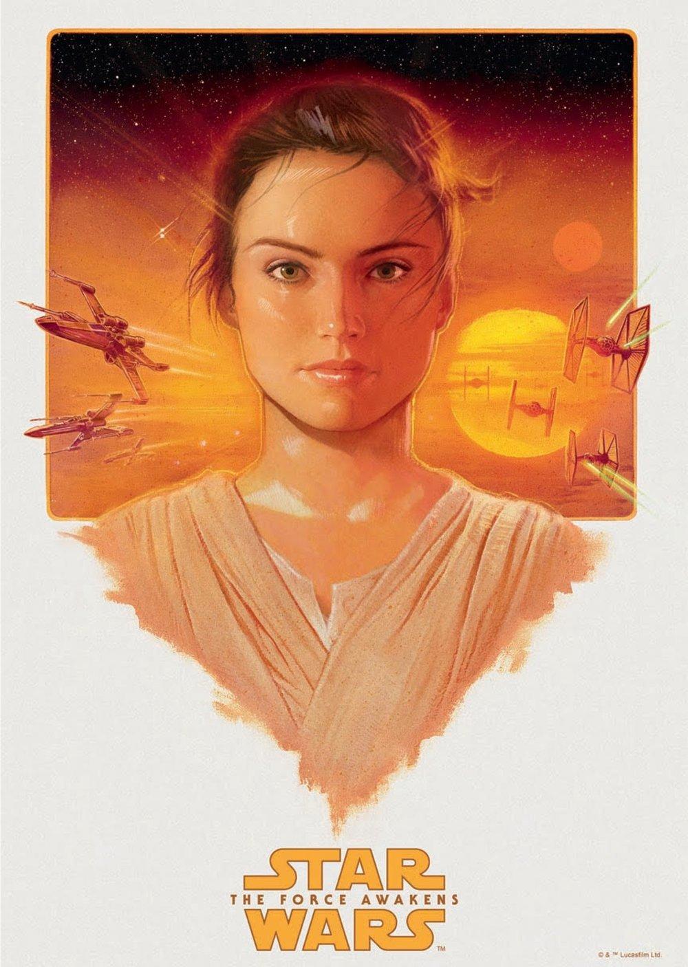 image 4 - Star Wars - Rey - John Keaveney - Bottleneck Gallery.jpg