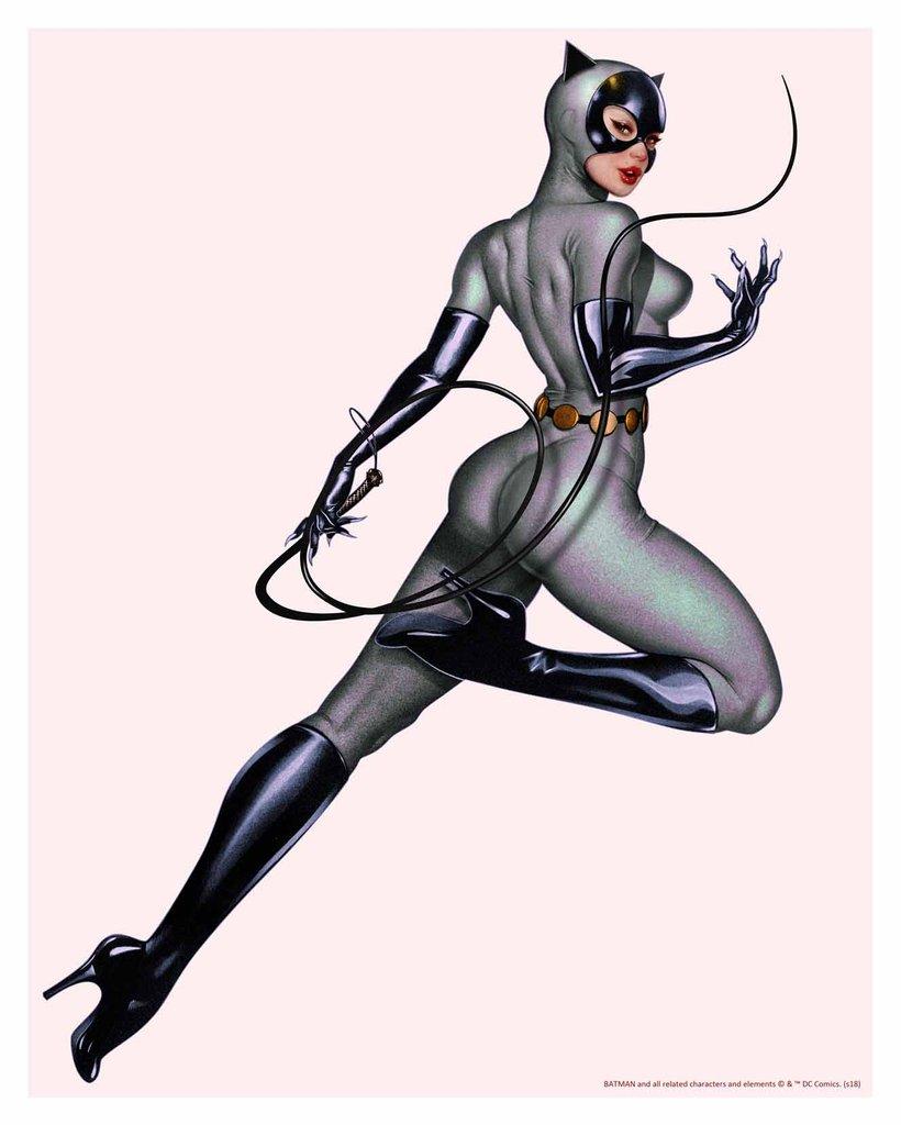 CatWoman_Grey_Variant_John keaveney.jpg