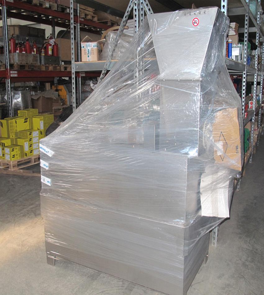УКЛАДКА И ХРАНЕНИЕ НА СКЛАДЕ   СТ-Машин - это возможность упаковать и посуточно хранить в Балашихе оборудование или металлоконструкции на складе.