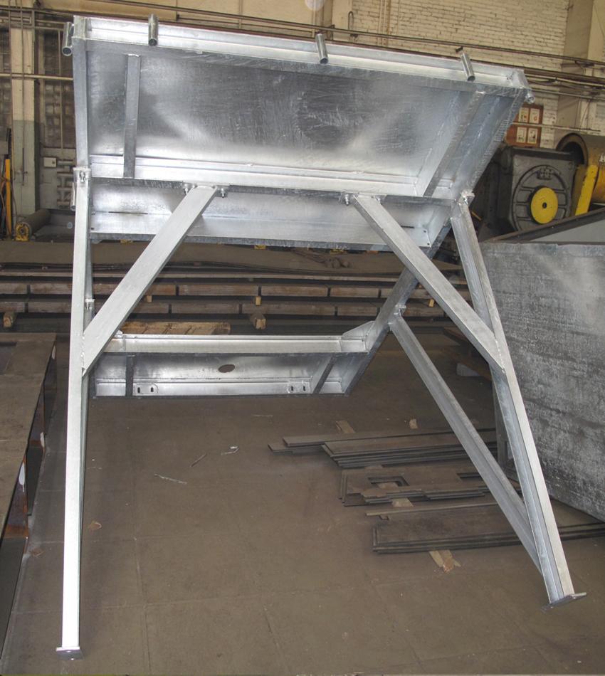 ГАЗОВАЯ СВАРКА и РЕЗКА МЕТАЛЛА   СТ-Машин - это изготовление любых металлоконструкций в Балашихе по выгодной цене и в кратчайшие сроки. На фото: элемент рамы бетоносмесительного узла.