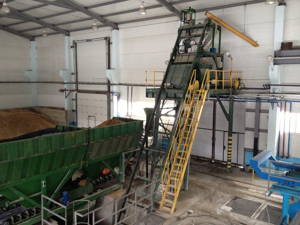 concrete russian batching plant