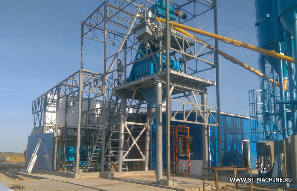 stationary concrete plant stmachineru.jpg