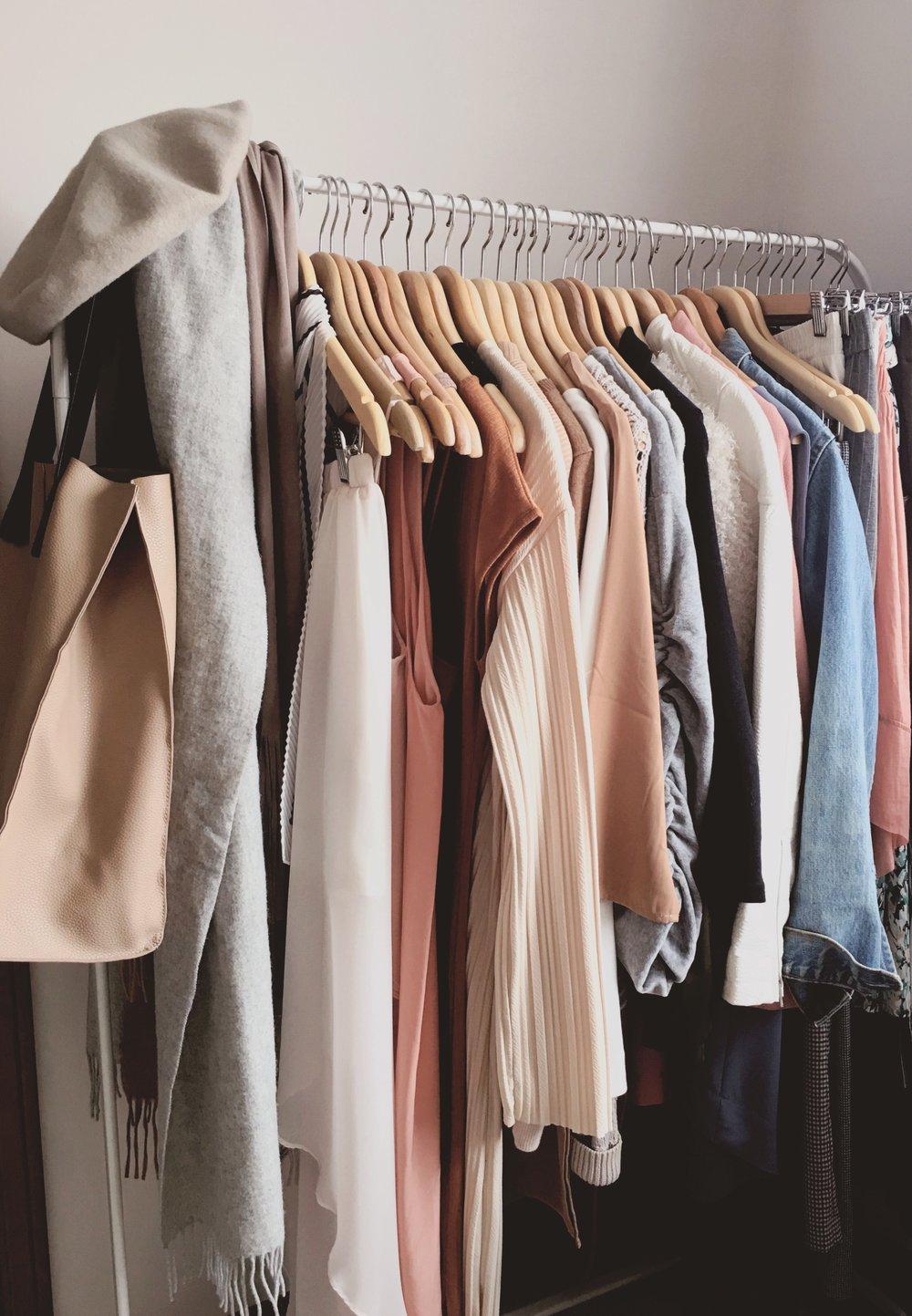 A Modest Closet  - My attempt at simplicity