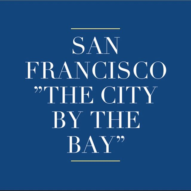 "Why is San Francisco called #The city by the bay""? . . #sf #sanfrancisco #question #sarashomestay #sarahomestay #california"