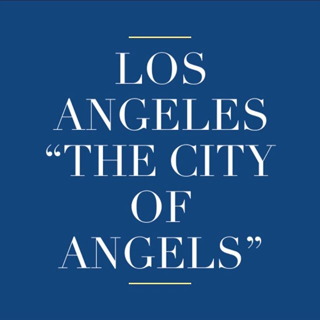 "Why is Los Angeles called ""The city of angels""? . . #cityofangels #losangeles #la #california #question #destination #sarahomestay #sarashomestay"
