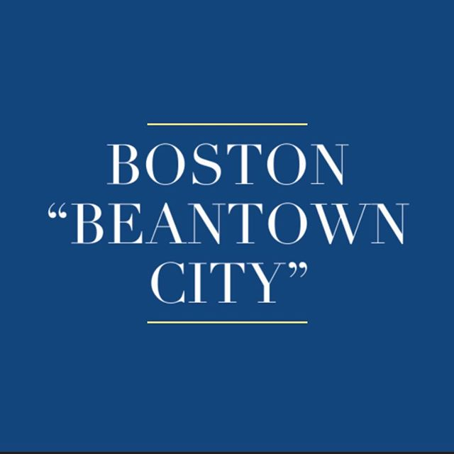 "Why is Boston called: ""Beantown City""? . . #boston #massachusetts #sarashomestay #sarashomestay #beantowncity #question #funfacts"
