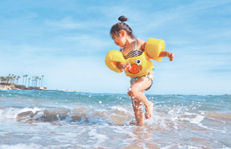 niños felices con aceite saludable