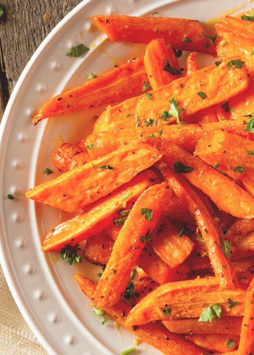 ensalada de zanahorias saludables