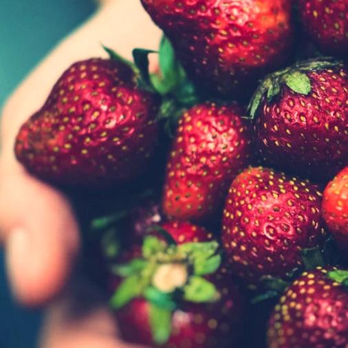 alimentos nutritivos fresas