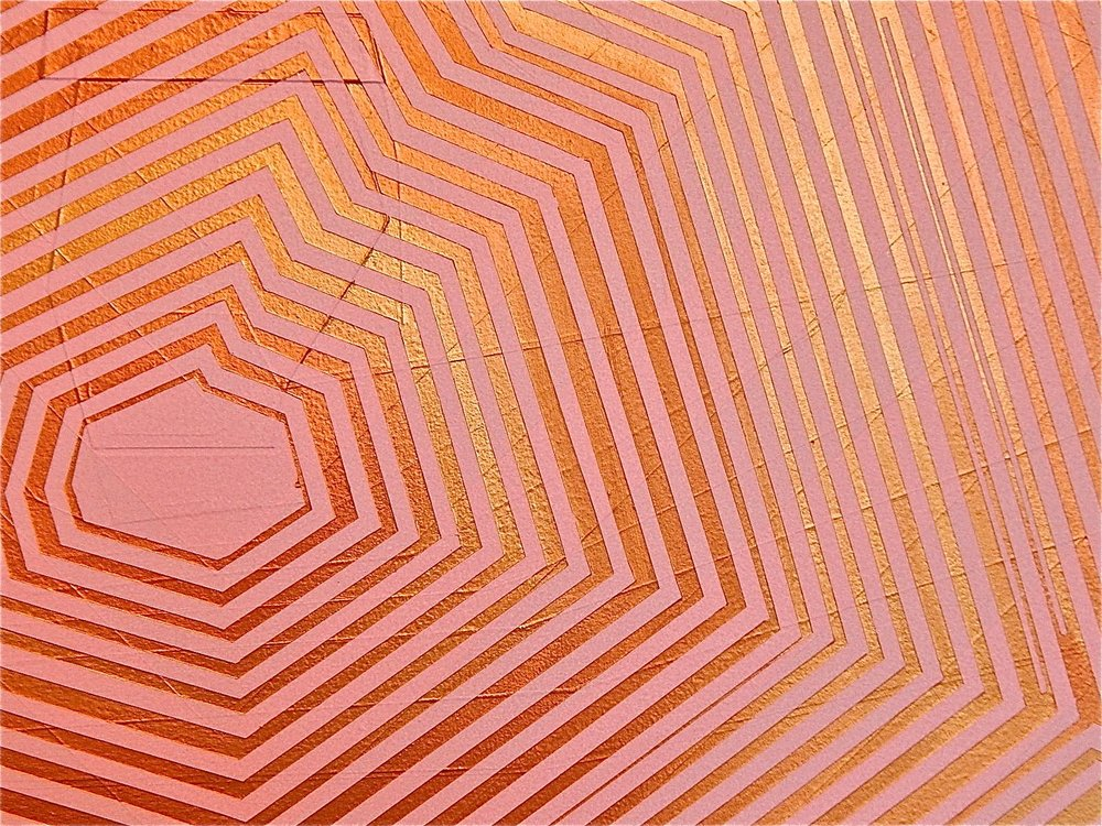 Jason Gubbiotti:Pink and Gold are My Favorite Colors (detail)