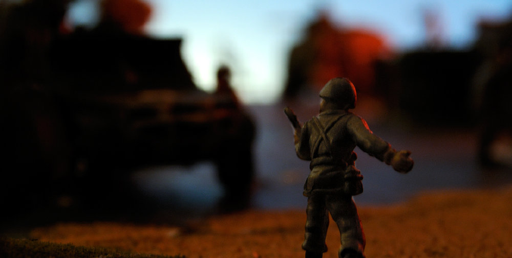 """All Clear (after David Levinthal)"""