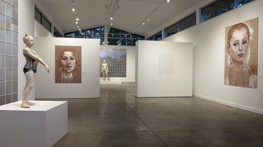 Cristina Cordova exhibition at Penland Gallery, 2016. Photo by Dana Moore