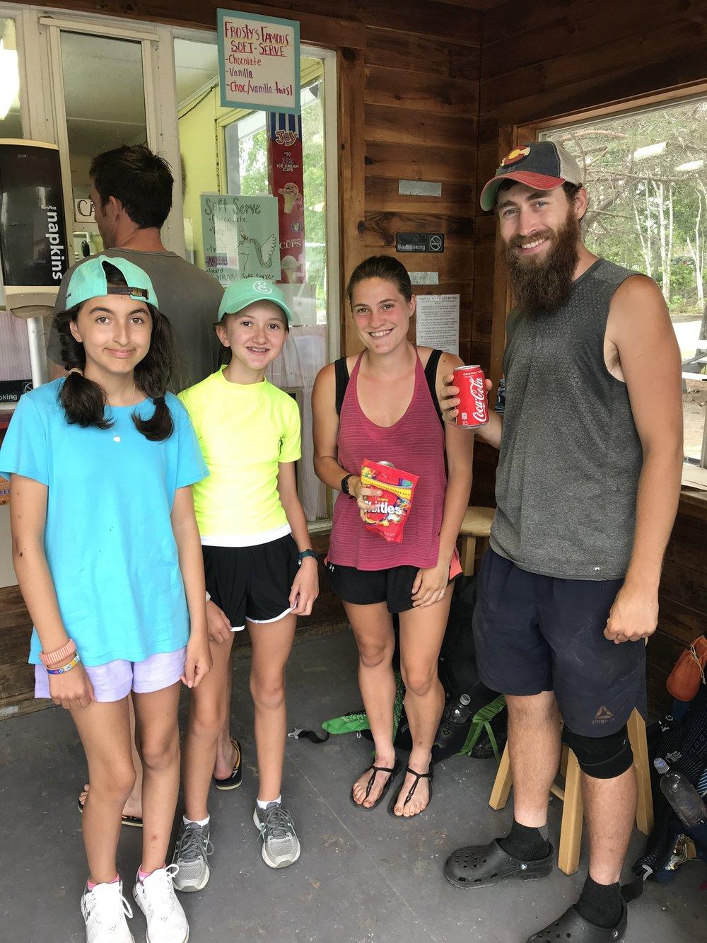 Thru hikers we met!