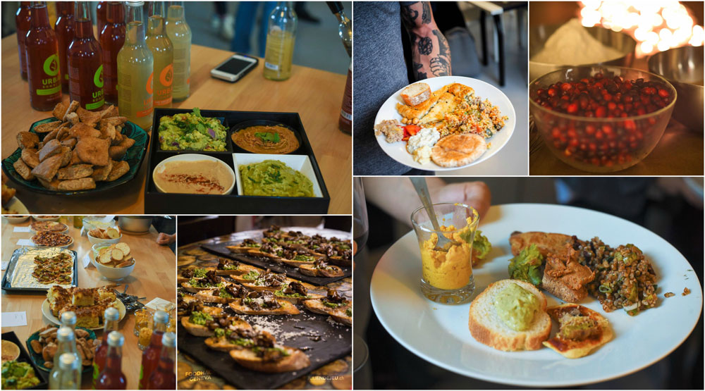 We always strive to offer the most delicious food & drinks at our events: