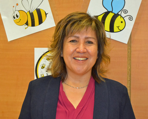 Pauline Favel - Director, First Nations Provincial Spelling Bee