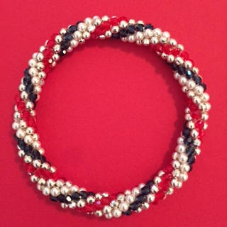 Red white and Blue Bracelet