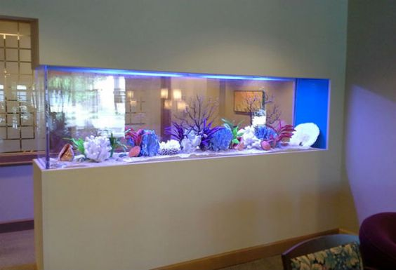 Peninsula Room Divider Aquarium