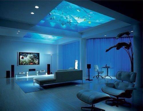 Ceiling Aquarium