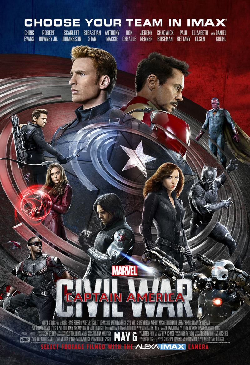Captain America Film Movie Poster