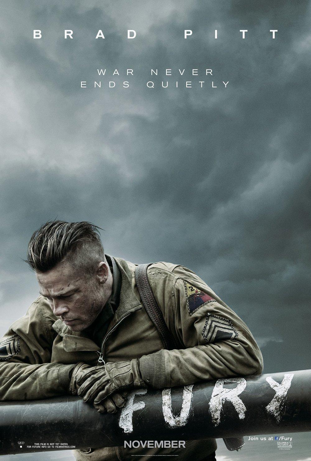 Fury Film Movei Poster