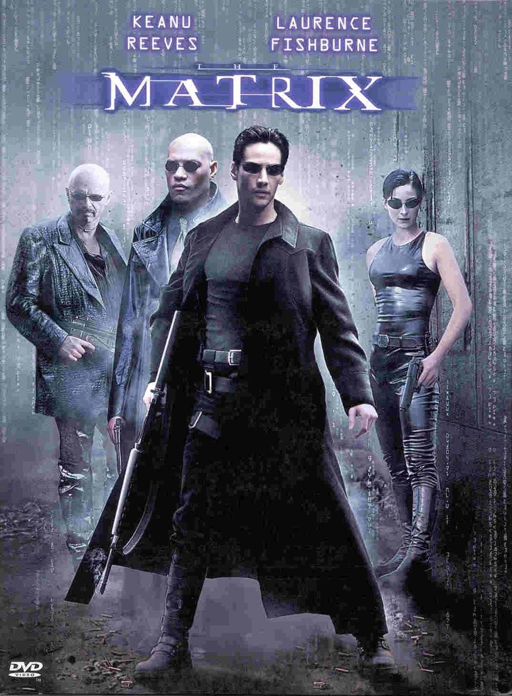 The Matrix film movie poster