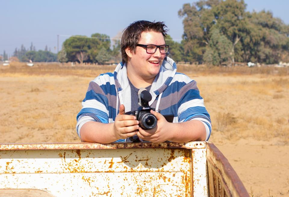 Austin Newell Filming Short film In Fresno Ca