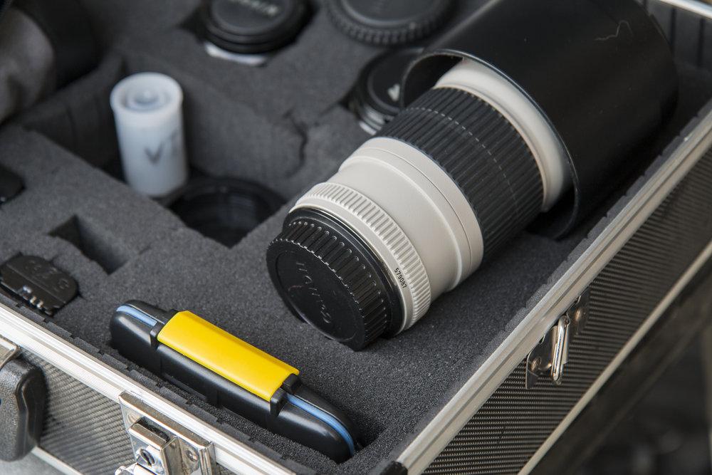 Camera Equipment in case.JPG