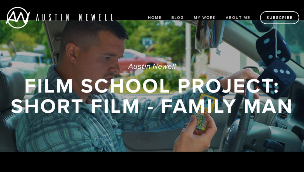 Family Man Short film Blog post featured image