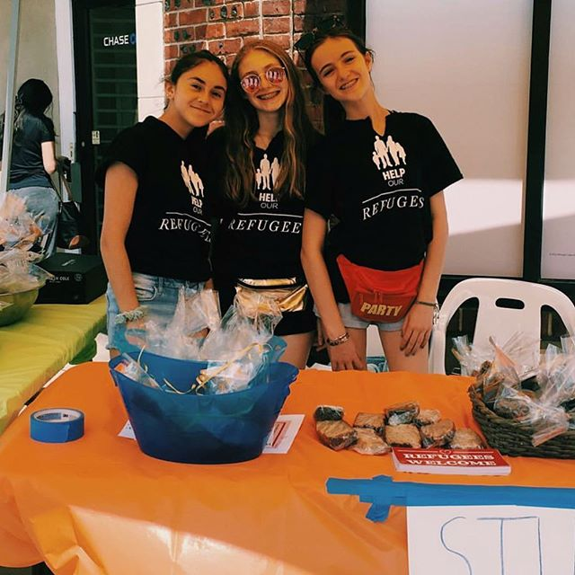 Another HUGE shoutout to @lydoherty @mayasilversteinn and @_aliciaarbz_ for their amazing bake sale, raising over $840 in just 4 hours!! 100% of the proceeds will go to our current project partnered with @thesyriafund which will provide education to Syrian refugees. We can't wait to see the incredible things you will do for SFR!!