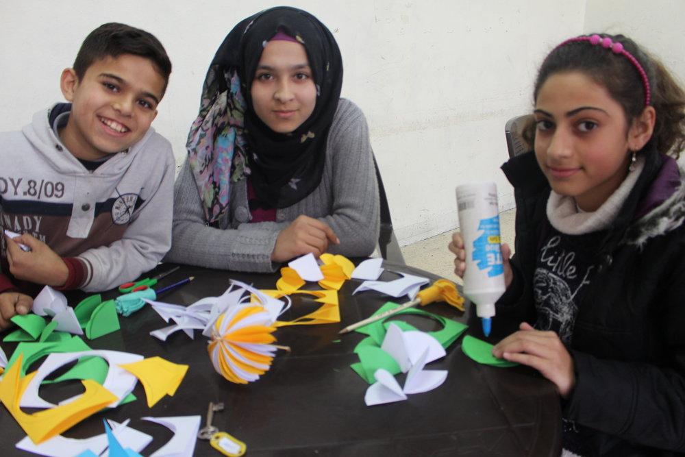 MECI-TSF. 02.12.18. Art class students. Third Beginner Class..JPG