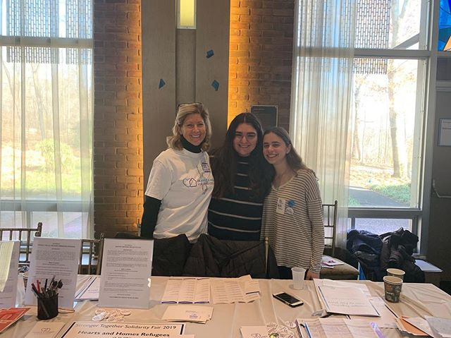 "This morning, SFR had the incredible opportunity to attend the ""Stronger Together Solidarity Fair"" at Temple Israel of New Rochelle, an event organized in response to the senseless violence at the Tree of Life Synagogue in Pittsburgh back in October. We came together as a community, discussing the various ways in which we can work towards justice for all. We talked with representatives from organizations doing both local and international work and were reminded of the fundamental truth: despite all of our differences (racial, religious, ethnic, cultural, etc.), we are all human. Let us continue to fight for the marginalized and the unrepresented."
