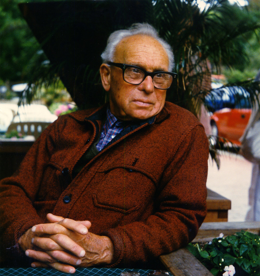Irving Norman, 1987    Photograph by Dirk Bohlen