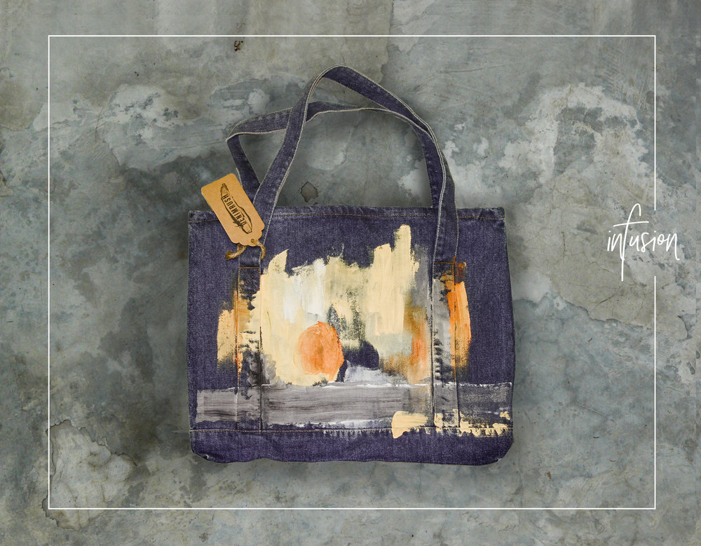 INFUSION - DENIMRUSH BAGS