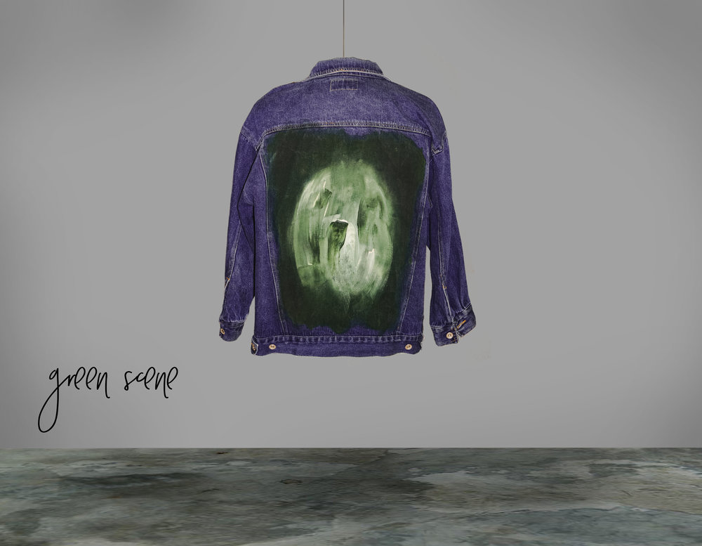 THE AVOCADO JACKET - THE GREEN SCENE COLLECTION