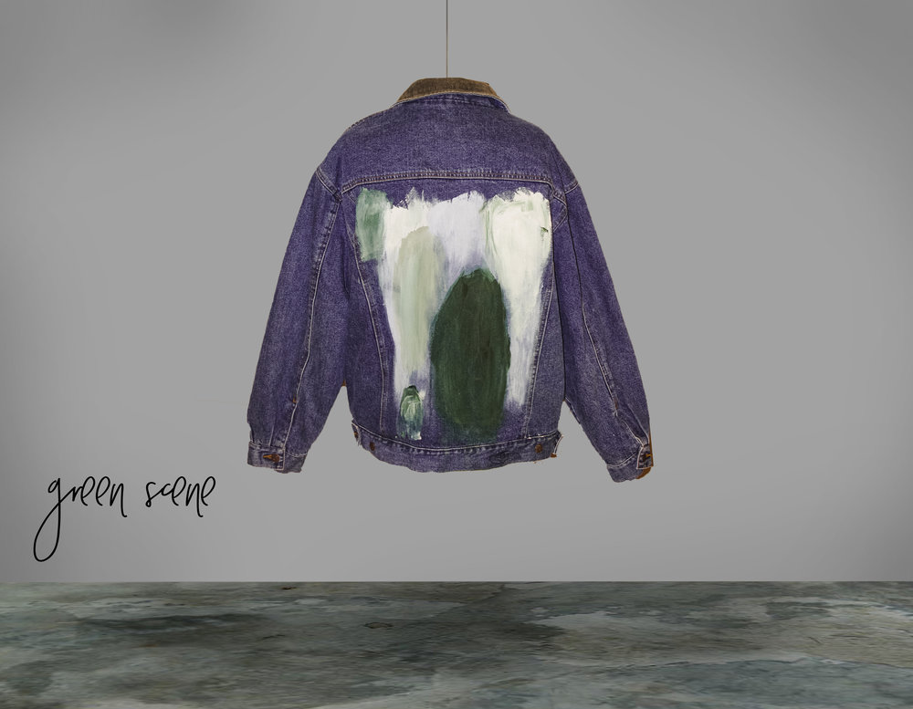THE GREEN THUMB JACKET - THE GREEN SCENE COLLECTION