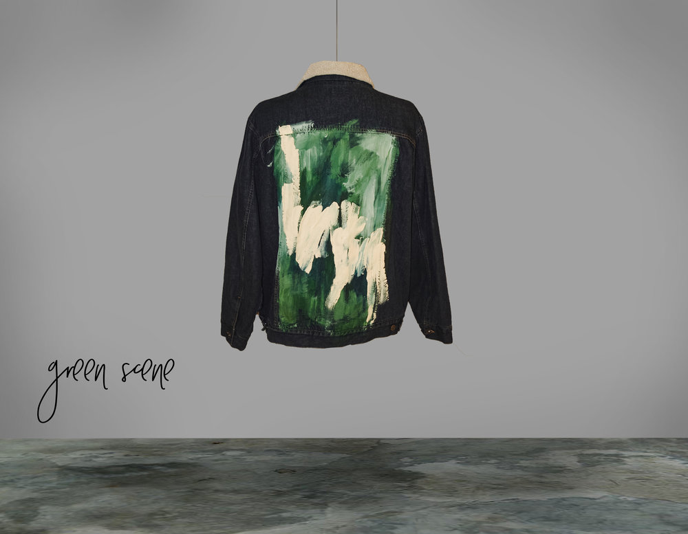 THE TIGER'S NEST JACKET - THE GREEN SCENE COLLECTION