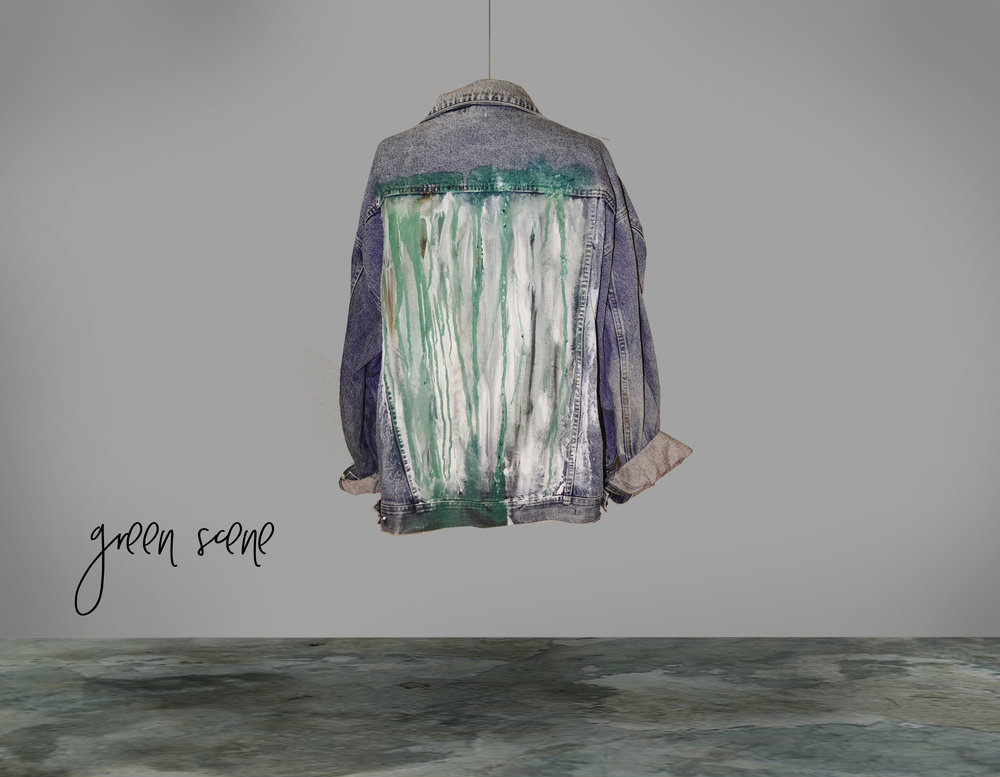 THE VINE JACKET - THE GREEN SCENE COLLECTION