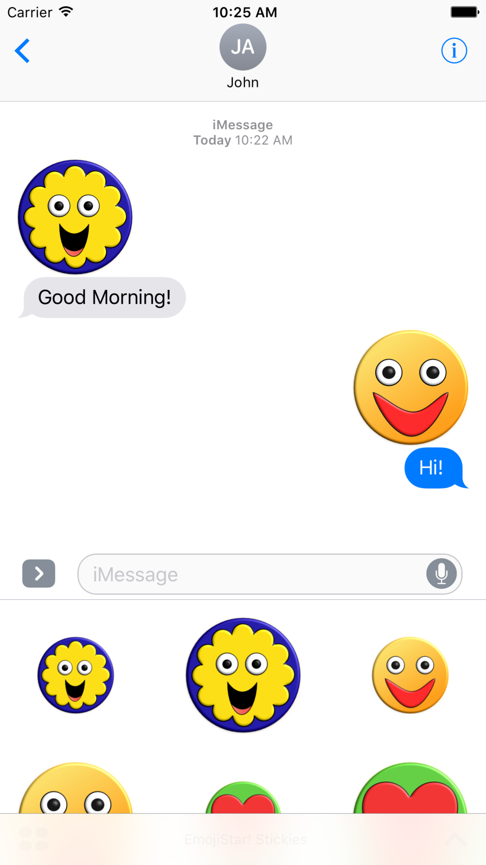 EmojiStar! Stickies