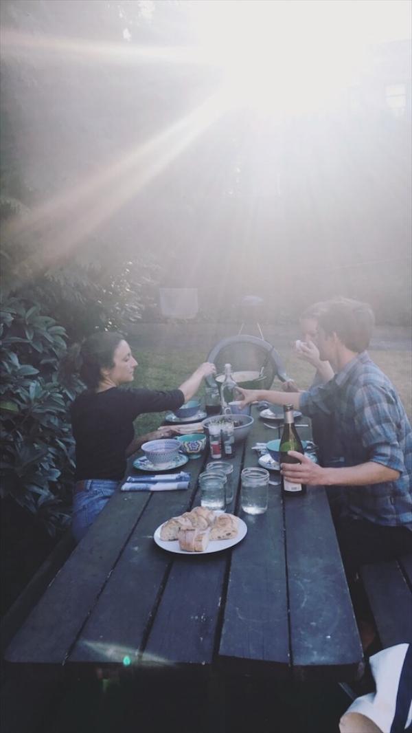 vegan alfredo picnic