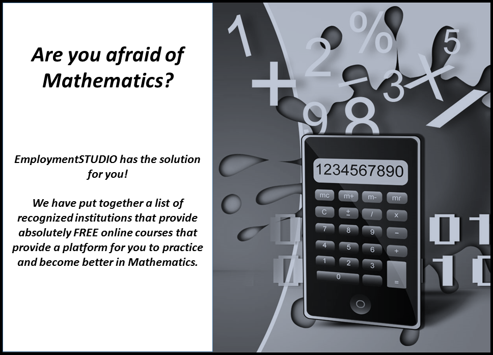 Practice Mathematics Online For FREE! — EmploymentSTUDIO