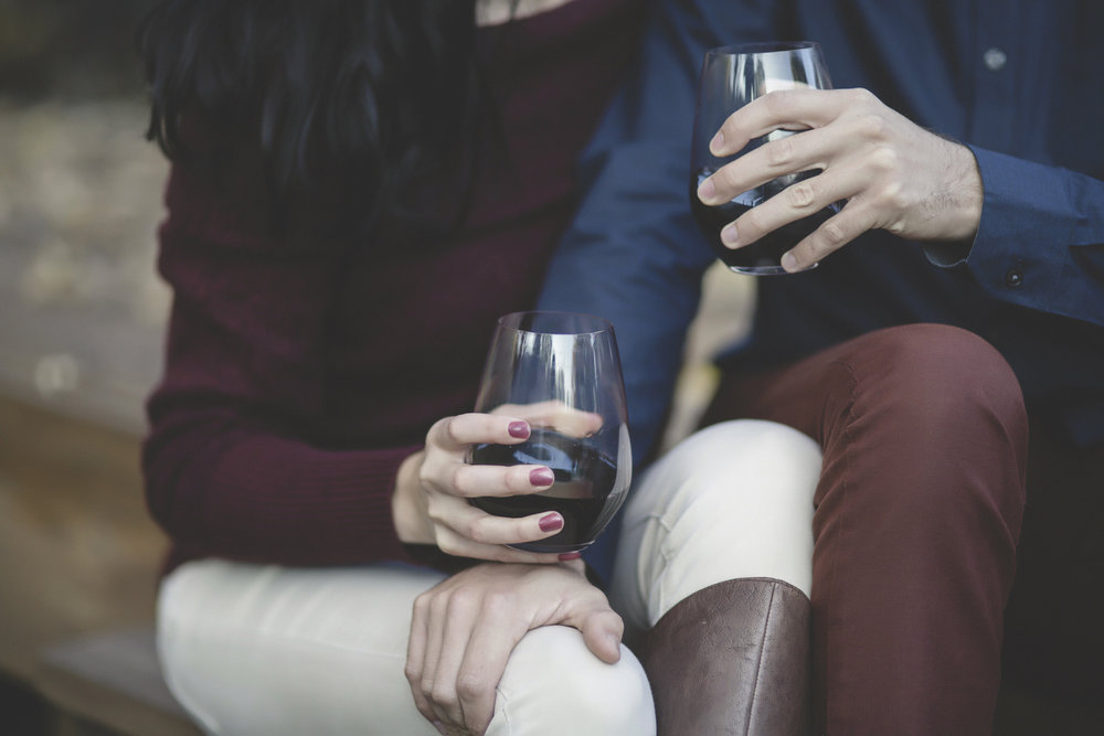 Minneapolis home backyard engagement session wine 5.jpg