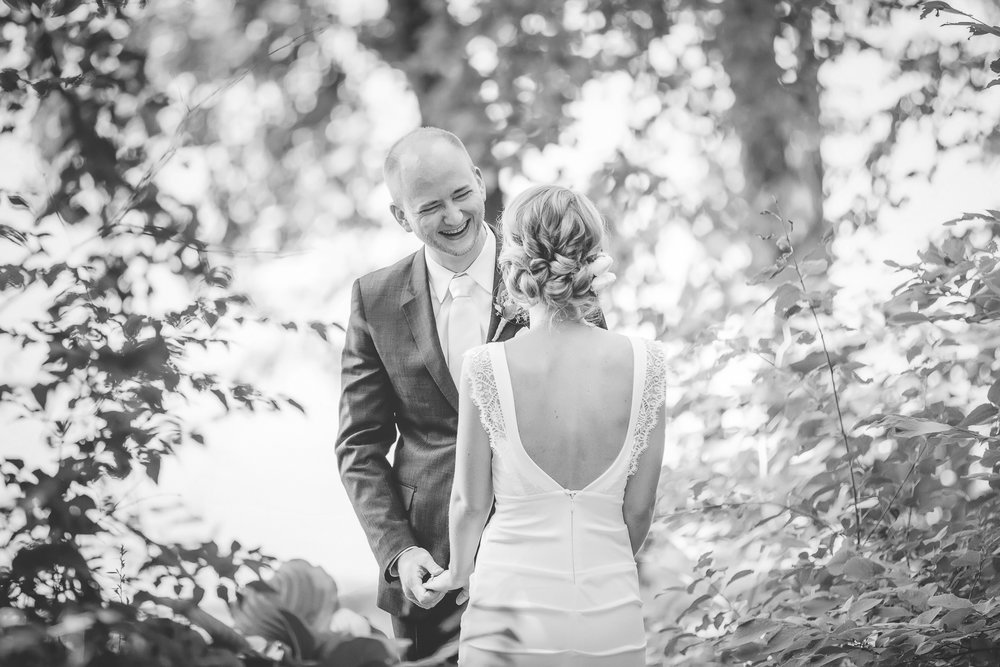 29 Minneapolis home backyard wedding first look 3.jpg