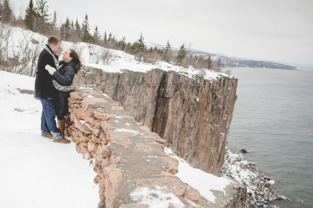North Shore Duluth MN Palisade Head Engagement Photos-11.jpg